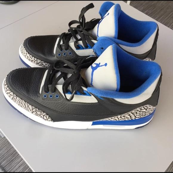 b9d625fdea87 Jordan Other - Nike Air Jordan 3 (III) Retro Sport Blue 13.5
